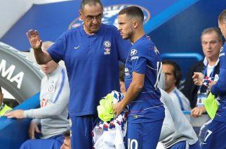 Maurizio Sarri i Eden Hazard