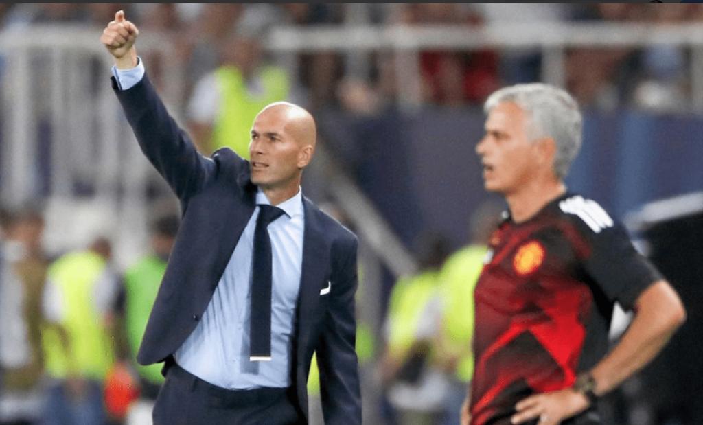 Zinedine Zidane i Jose Mourinho