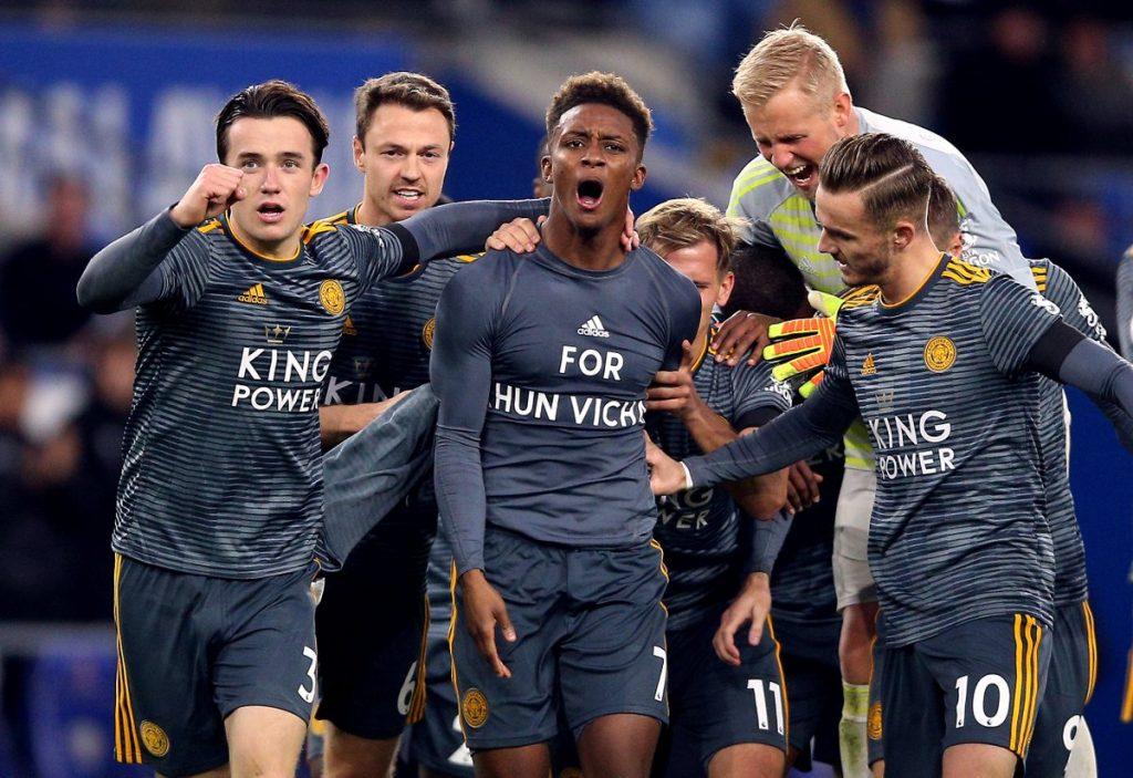 Gracze Leicester w hołdzie dla swojego właściciel