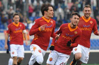 Mi Roma 05/02/2012 - campionato di calcio serie A / Roma-Inter / foto Marco Iorio/Image Sport nella foto: esultanza gol Krkic Bojan