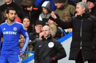 Jose Mourinho i Mohamed Salah