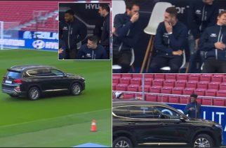 """""""No Partey, no party!"""" Zawodnik Atletico miał problem z samochodem od sponsora"""