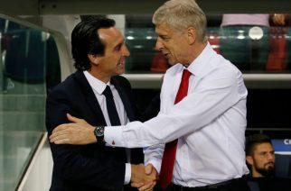 Unai Emery i Arsene Wenger