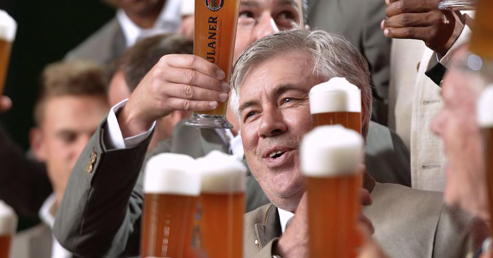 Ancelotti na Uniwersytecie. Piwo sposobem na poprawienie finansów?