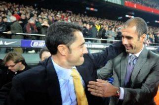 Ernesto Valverde i Pep Guardiola
