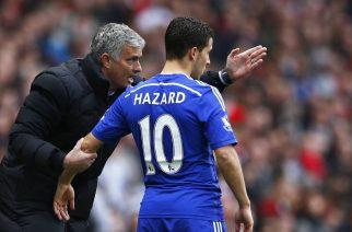 Jose Mourinho i Eden Hazard