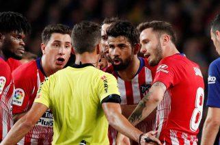 """""""Nie nie! Mówiłem o swojej matce!"""", czyli jak Diego Costa próbował udobruchać arbitra"""