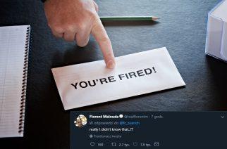 finger pointing at letter on office desk