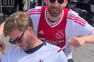 Kibic Tottenhamu zasnął przed meczem z Ajaksem. Szybko tego pożałował