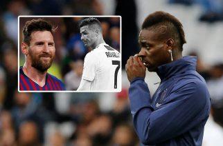 Balotelli wyjaśnił i uzasadnił swój wpis o Messim i Ronaldo