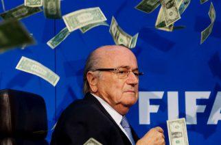 Ogień jednak może pokonać smoka? Sepp Blatter i najbardziej ironiczny nagłówek w historii piłki