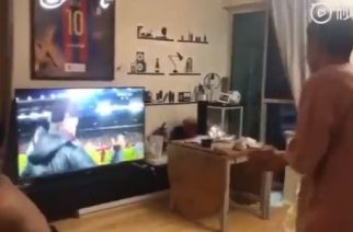 Fan Barcelony nie utrzymał nerwów na wodzy. Dziś może tego żałować [WIDEO]