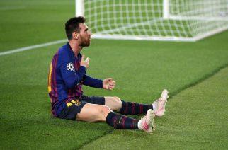 Messi pod stadionem Evertonu? Fani przy Goodison Park zadrwili z Liverpoolu