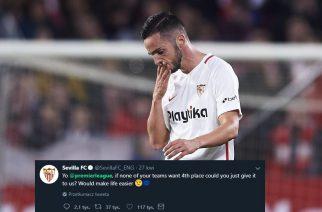 Karma szybko wraca. Sevilla drwiła z Premier League, a sama nie jest lepsza