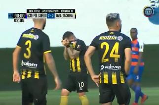 Po strzelonym golu łzy… smutku. Nietypowa sytuacja w meczu ligi wenezuelskiej!