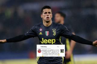 """Joao Cancelo """"rozstał się"""" już z Juventusem? Profil piłkarza polubił kontrowersyjny komentarz!"""