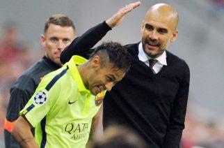 Pep Guardiola i Neymar