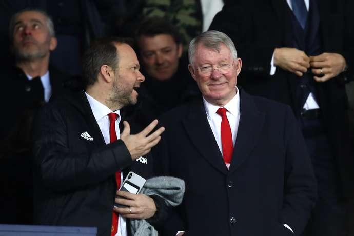 Ferguson polecił kandydata na nowego dyrektora United. Takiej odpowiedzi Woodwarda raczej się nie spodziewał…