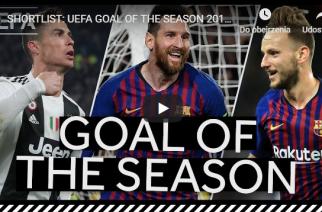UEFA wybrała najlepsze bramki poprzedniego sezonu! [WIDEO]