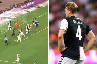 Fani Manchesteru United kpią z De Ligta. Dołączyli do nich niespodziewani goście