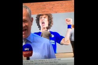 """Kibice Chelsea reagują na transfer Luiza. Bokserski pojedynek sympatyka """"The Blues""""! [WIDEO]"""