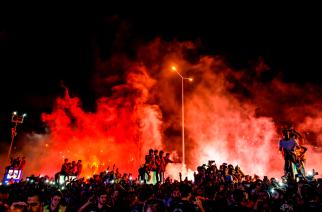 Wielkie święto w Stambule. Kibice witają Falcao!