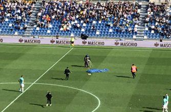 Niespodziewany gość na meczu Sassuolo-Inter!