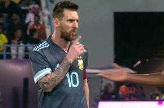 """""""Zamknij się"""". """"Sam się zamknij"""". Messi wywiera wpływ na arbitrów?"""
