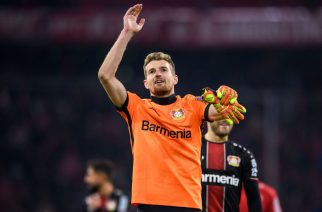 Utrudnione zadanie. Lukas Hradecky zdradził problem, z którym zmagał się w pierwszej połowie meczu z Bayernem!