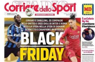 Roma i Milan zareagowały na absurdalną okładkę gazety!