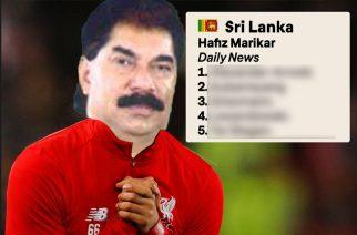 """Najdziwniejszy """"ekspert"""" w świecie głosów Złotej Piłki? Hafiz Marikar ze Sri Lanki"""