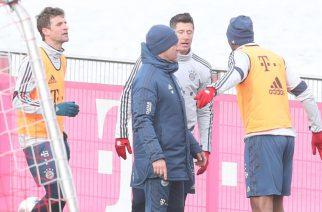 Bójka na treningu Bayernu. Kolegów musiał rozdzielać Lewandowski