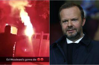Skandal w Anglii. Dziennikarz The Sun wziął udział w proteście przed domem Woodwarda