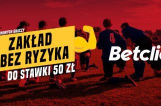 Liga Mistrzów powraca! 50 PLN ZAKŁADU BEZ RYZYKA!