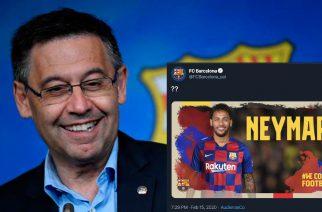 Zhakowano konta FC Barcelony na Twitterze. Kibice mogli przez chwilę pomarzyć?