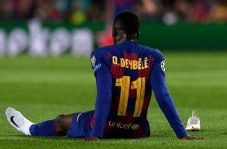 Ousmane Dembele ponownie kontuzjowany!