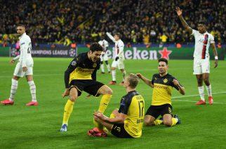 Erling Haaland przyćmił wielkie gwiazdy. Borussia wygrywa z PSG!
