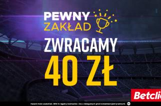 """""""Pewny Zakład"""" od Betclic!"""