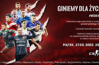 Charytatywna gra polskich piłkarzy w CS:GO. Organizatorem wydarzenia Wojciech Pawłowski!