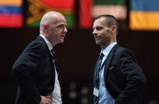 Kolejna wojna FIFA vs. UEFA. Znowu ucierpią na tym przede wszystkim piłkarze?