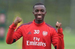 Eddie Nketiah nie radził sobie w Leeds. W Arsenalu idzie mu nieźle
