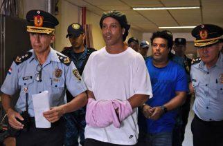 Ronaldinho spędza urodziny w więzieniu. Szybko z niego wyjdzie?