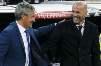 Quique Setien – największa zmora Zidane'a