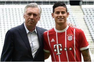 James Rodriguez znów zagra u Carlo Ancelottiego?