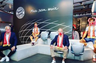 Bayern sprzedał ponad 100 tysięcy maseczek w ciągu doby