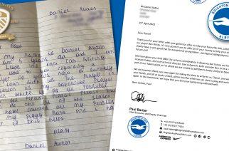 Wzruszający list z prośbą o sprzedaż piłkarza. Pięciolatek zachwycił całą Anglię