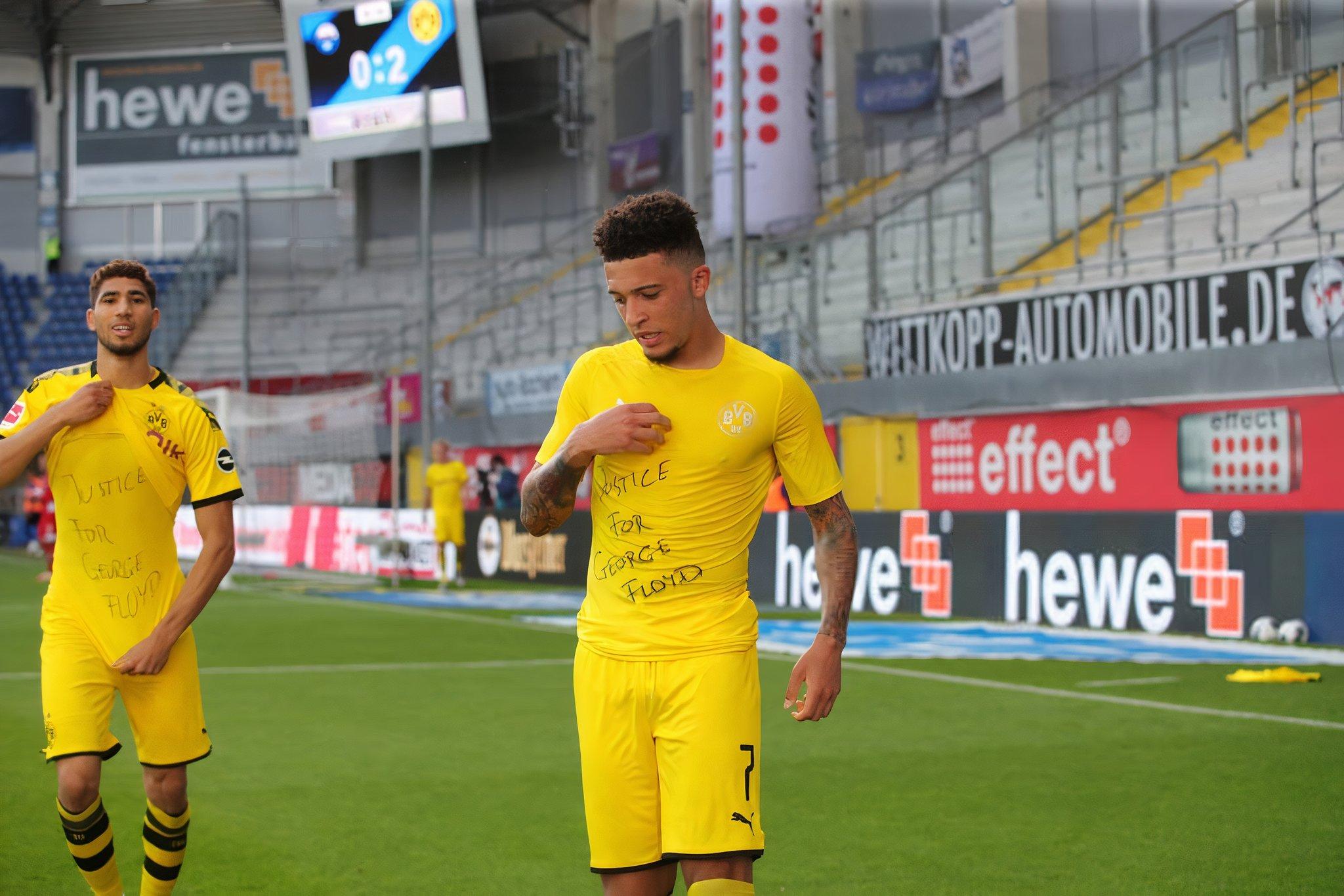 Jadon Sancho ponownie błyszczy. Hat-trick zawodnika BVB!