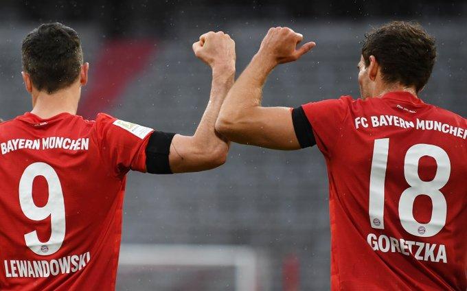 Bayern dokonał masakry w Leverkusen. Lewandowski z kolejnym golem