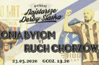 Wirtualne Najstarsze Derby Śląska. Kibice obu klubów łączą siły