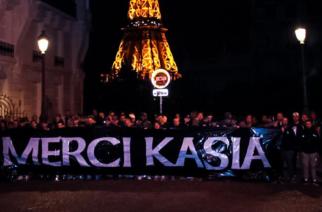 Kibice PSG w pięknym stylu pożegnali Katarzynę Kiedrzynek!